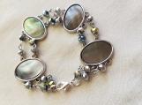 Oval Abalone Look Bracelet