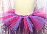 Purple and Pink elastic Tutu (Size 3-6 years old)