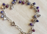 Purple Plus Shimmer Bracelet