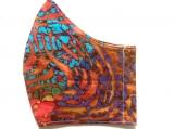 Rainbow Fingerprint 1 Batik Mask