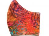 Rainbow Fingerprint 2 Batik Mask