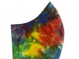 Rainbow Nebula Tie Dye Mask