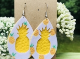 Signature Pineapple Patch Earrings