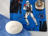Star Wars Blue facecloth