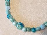 Aqua Young Ladies' Necklace