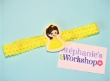 Baby Beauty Yellow Elastic Headband