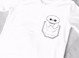 Baymax Pocket Children T-shirt (size 3T)