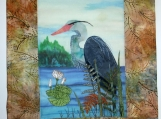 Blue Heron Wall Quilt - QW11