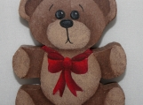 Chunky Teddy Bear Ornament