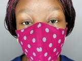 Face Mask, Reusable, Washable, Filter Pocket, Nose Bridge Wire
