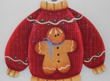 Gingerbread Sweater Ornament