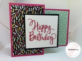 Handmade Birthday Card (fun fold)