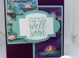 Handmade Greeting Cards - Get Well Soon