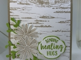 Handmade Greeting Cards - Get Well Soon (Daisies)
