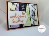 Handmade Greeting Cards - New Baby (butterflies)