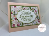 Handmade Greeting Cards - Wedding (Floral)
