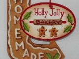 Holly Jolly Bakery Ornament