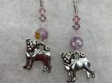 My Canine Earrings-purple