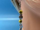 My Feline Earrings-yellow