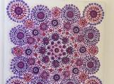 Plum Crazy Mandala Tile