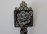 Rose Key Ornament