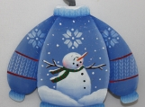 Snowman Sweater Ornament