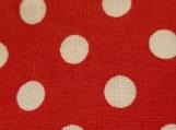 Standard Kool Breezy Neck Wrap - Red w/white Poka Dots