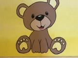 Artwork Teddy Bear Truly Bearable (Yellow)