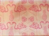 Wide Kool Breezy Neck Wrap - Pink Flamingos
