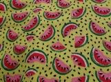 Wide Kool Breezy Neck Wrap - Watermelon Lime Green