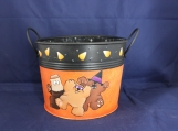 Boo Bears Lined Candy Bucket