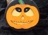 Goofy Pumpkin Face