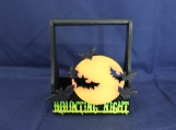 """Haunting Nighgt"" Halloween Mini-basket"