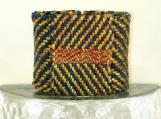 Katsara Handwoven Textile Layered Cuff Bracelet