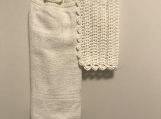 Bathroom Hand Towel Topper
