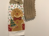Christmas Kitchen Tea Towel Topper