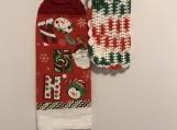 Christmas Kitchen Tea Towel Topper (ho ho)
