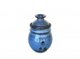 Garlic Keeper Storage Jar - Pacifica Blue Glaze