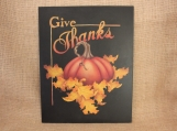 Give Thanks Wall Art 11 x 14