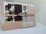 Handmade Thank You Card (feminine, floral)