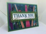 Handmade Thank You Card (floral)
