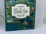 Handmade Thank You Card (soft floral, feminine)