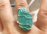 Amanzonite Ring