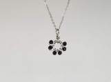 Gemstone Necklace - Black Spinel - 3 mm beads