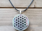 Orgonite Pendant - Flower of Life - Reiki - Spirituality - Yoga necklace - Unisex