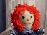 """20"""" Classic Raggedy Ann Handmade Dolls with hair"""