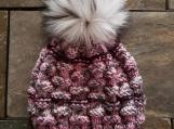 Basket Weave Knit Hat