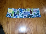 Blue & Green animals, Giraffe, Rhino, Hippo, Crayon Holder 16 ct