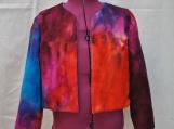 Blue/purple tie-dye jacket