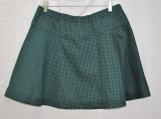 Dark Green/Black Checked Skirt